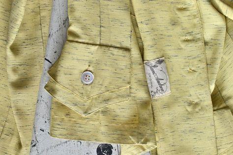 High Strata suit / rayon 1950s suit / vintage 50s suit