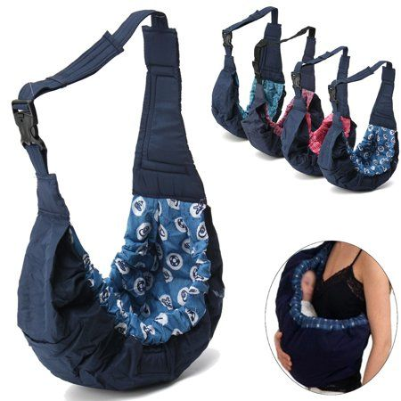Infant New born Adjustable Carrier Sling Wrap Rider Backpack Pouch Ring New Baby