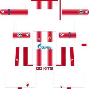 Get The Crvena Zvezda 2020 Kits 2019 2020 Dream League Soccer Crvena Zvezda 2020 Dls 2019 2020 Kits And Create Your Own Dream Team Crvena Zvezda 2020 Logo Is