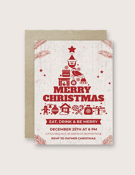 Creative Christmas Invitation Template Free Pdf Word Psd Apple Pages Publisher Outlook Christmas Invitations Template Invitation Template Christmas Invitations