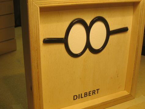 Famous Glasses - DILBERT