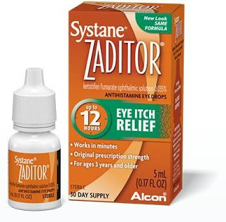 دليل القطرات Systane Zaditor Prescription Systane Eye Drops
