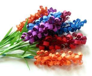 D.I.Y. Swirly Paper Flowers