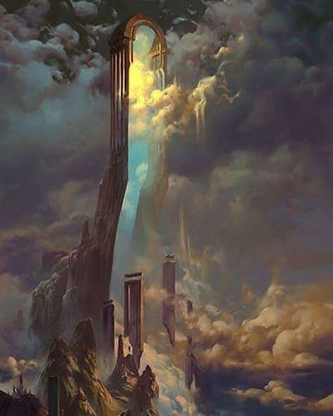 Paysages, Cités & Mondes 700cbfcc73411299228f4b8a8d371a70--the-other-side-the-clouds