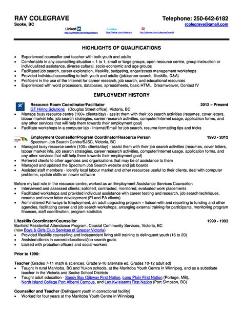 Page 1 of 2 page resume Ray Resume and Recommendations Pinterest - external audit report