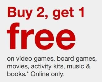 Target Select Video Games Board Games Activity Kits Books Movies