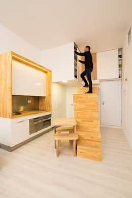 Arredare una casa piccola: 3 esempi in poco spazio   Cucina