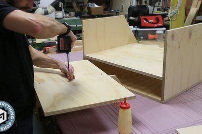 Scrap Cart From A Single Plywood Sheet W Plans Prosjekter A Prove Prosjekter