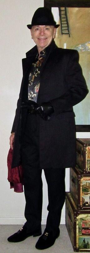 dandystyle Sandy Dalal overcoat, Simons'...
