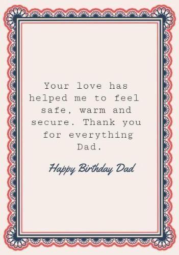 Happy Birthday Dad Birthday Card Printable Free Printable Birthday Cards Dad Birthday Card