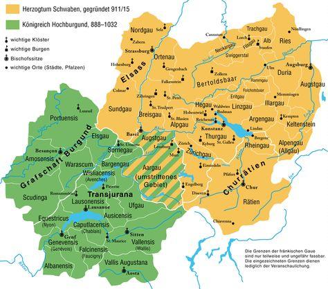 Schwaben Wikipedia Schwaben Landkarte Deutschland Landkarte