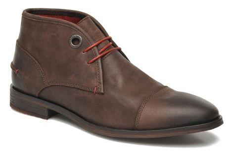 Kickers Darko (Marron) Chaussures à lacets chez Sarenza