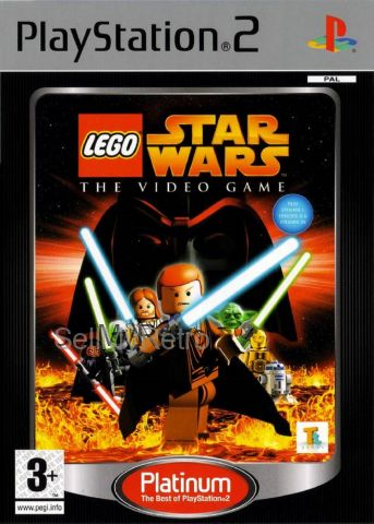 LEGO Star Wars: The Video Game PAL for Sony Playstation 2/PS2 from Eidos (SLES 53194)