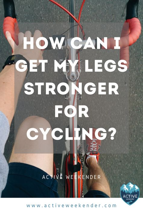 Want to improve your cycling performance? Learn how to strengthen your legs with these Zwift Cycling, Indoor Cycling, Cycling Tips, Cycling Workout, Biking Exercise, Cycling Stretches, Bicycle Exercise, Spin Bike Workouts, Bicycle Workout
