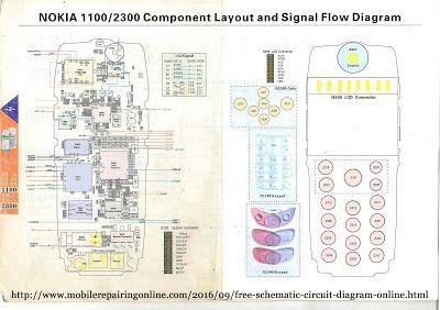 Schematic Diagram For Nokia Mobile Circuit Diagram Cell Phone Repair Nokia