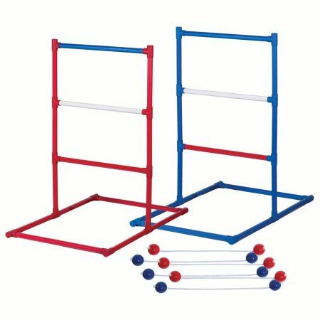 Franklin Sports Ladder Ball Set Red White And Blue Golf Toss Set Includes 2 Ladder Ball Targets With Weighted Base And 6 Bolas American Series Golf Fashion Toss Game Cornhole Set