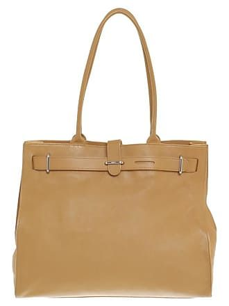 Furla gebraucht Handtasche in Ocker Damen Leder   Bags