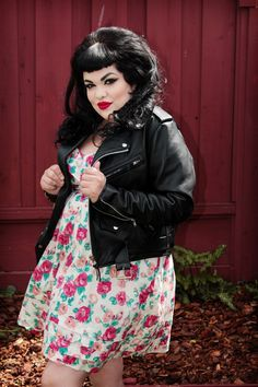 Psychobilly dresses plus size