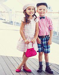 Little Kids//Big Kids Janie and Jack Girls Fur Collar Cardigan