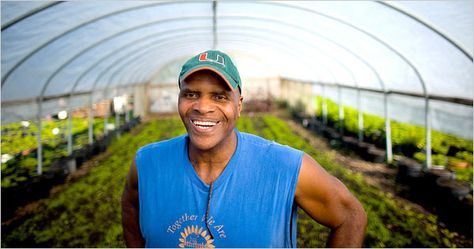 An Urban Farmer Is Rewarded for His Dream (Published 2008)
