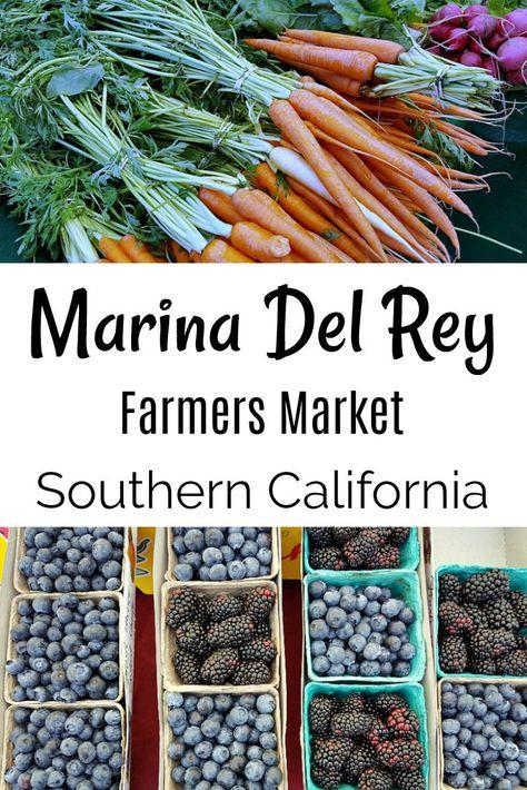 Marina Del Rey Farmers Market Saturdays