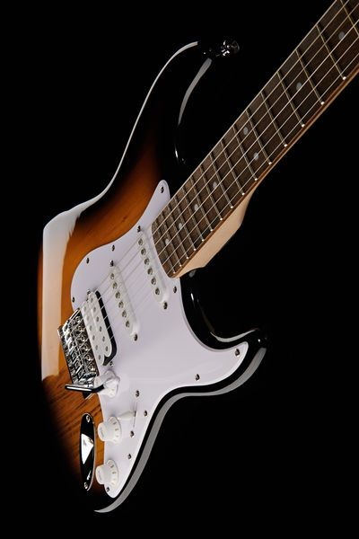 Fender Squier Bullet Stratocaster Electric Guitar - basswood body, maple neck