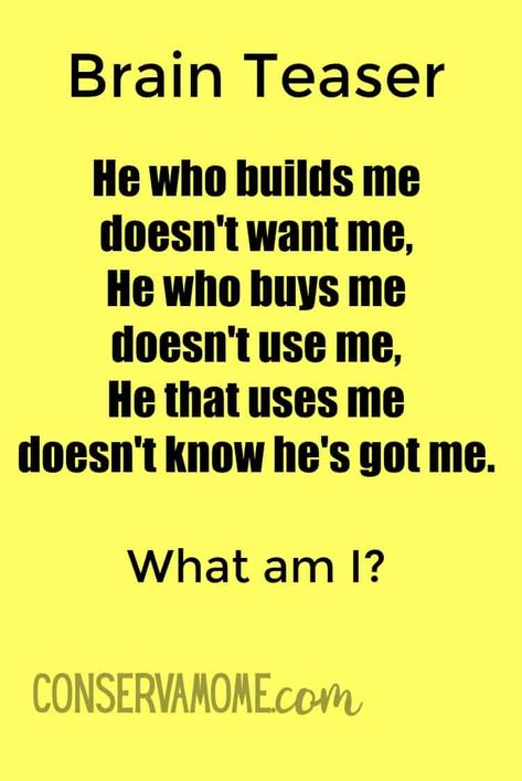 Here's a fun riddle can you figure it out? #brainteaser