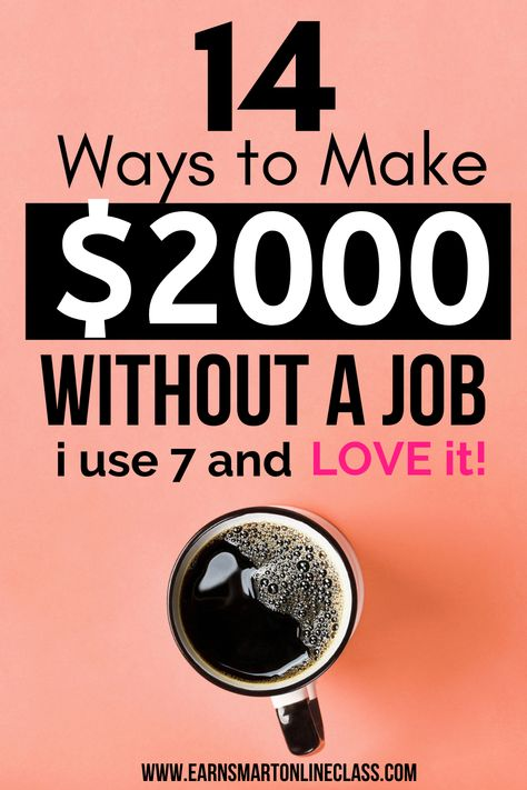 21 Simple Ways to Make Money Without a Job