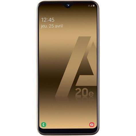 Smartphone Modele Galaxy A20e Double Sim 32go 3go Ram Galaxie Smartphone Et Capteur Photo