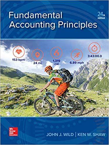 Fundamental Accounting Principles 24th Edition EBook