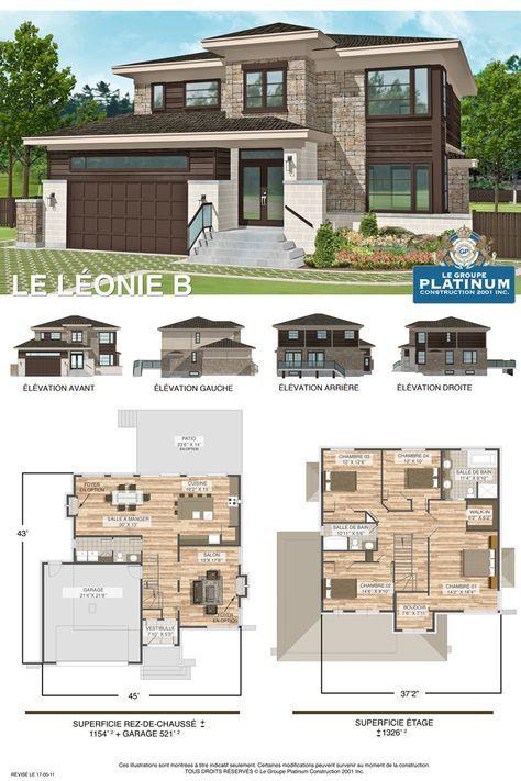 The Sari Double Storey House Design 301 Sqm \u2013 121m x 165m