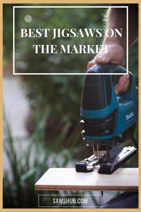 We've reviewed the best jig saws available on the market, including cordless options and good, cheap finds. We review Bosch, Dewalt, Makita, Porter Cable, and Black & Decker. #sawshub #bosch #dewalt #makita #portercable #black&decker #jigsaw