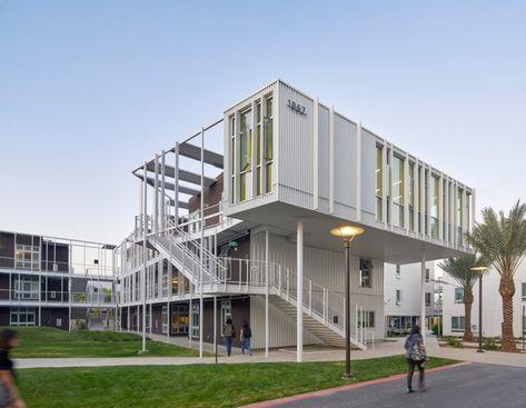 LOHA's San Joaquin Student Housing makes most of coastal climate