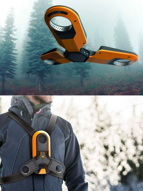 Humla Forestry Drone Can Be Strapped to Your Chest and Deployed Just About Anywhere New Technology Gadgets, Drone Technology, Futuristic Technology, Cool Technology, Gadgets And Gizmos, Tech Gadgets, Cool Gadgets, Drones, Arte Robot