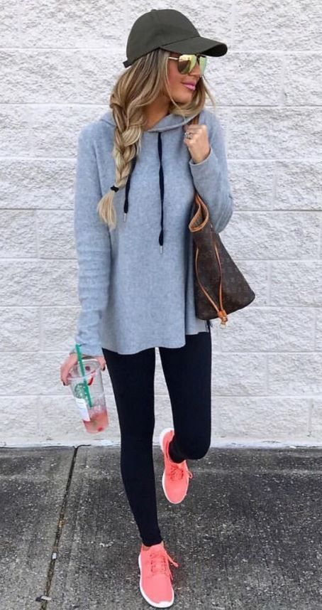 """What are """"fashion leggings,"""" you ask? They're leggings that you can wear to the gym, but also to dinner with family, a night on the town with friends and maybe even to a Giambattista Valli show, given the designer's newfound affinity for Nike."""
