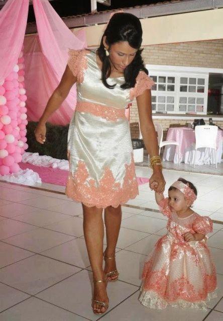 Vestido De Festa Tal Mae Tal Filha Casamento Formal Madre