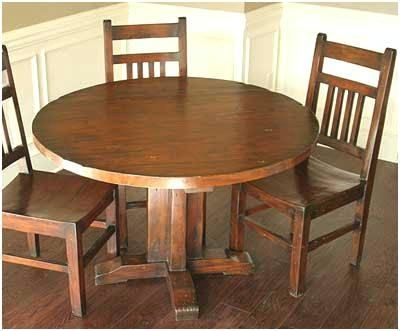 Free Dining Room Table Woodworking Plans Diy Dining Room Table