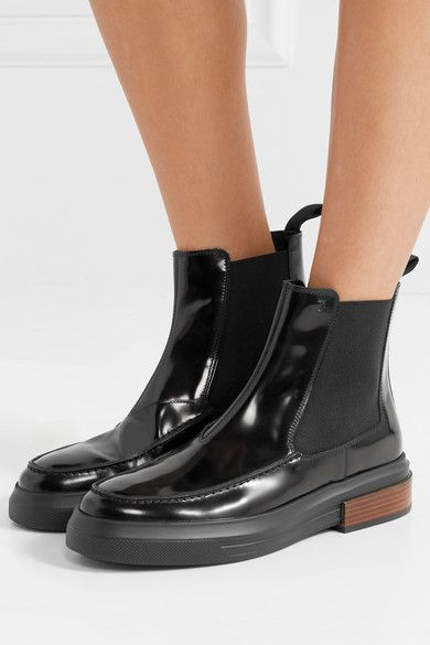 0bd5807f9a8c4 Tod's - Glossed-leather Chelsea boots in 2019 | kickin' it | Chelsea ...