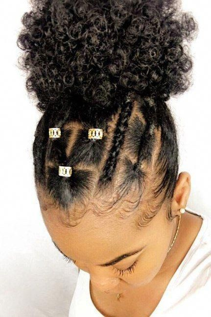 Protective Hairstyles For Natural Hair Naturalhair Protective Hairstyles For Natural Hair Girls Natural Hairstyles Girl Hairstyles