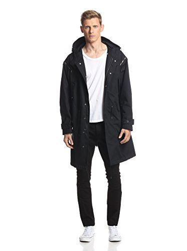 April77 Men's Fishtail Parka (Black) | Men Fashion | Pinterest ...