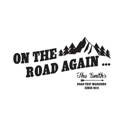 You Had Me At Road Trip Decal Window Sticker Car Travel Adventure Vacation Famil
