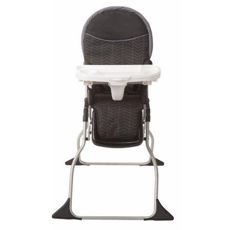 Cosco Simple Fold Deluxe High Chair Black Arrows Walmart Com Folding High Chair Cosco Best High Chairs