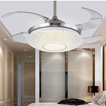 Modern Ceiling Fans With Bright Lights In 2020 Modern Ceiling