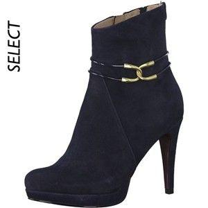 Stiefeletten TAMARIS 1 25391 21 Navy 805 Boots Stiefel