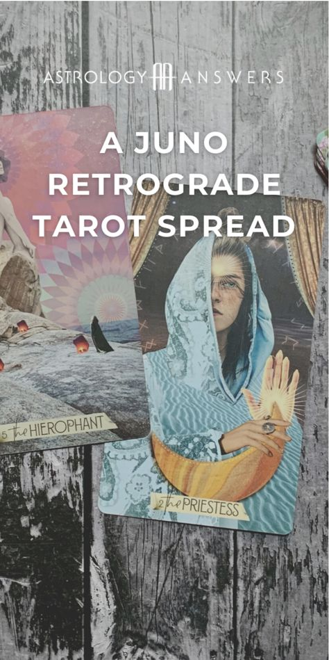 When we begin to explore the ways that asteroids influence and impact our natal charts, there tends to be a handful that are the most popular and the most written about. #juno #tarot