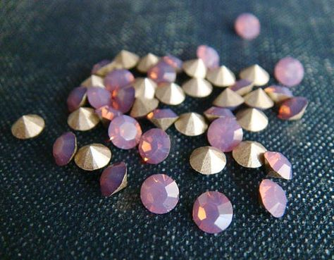 Cyclamen Opal from Swarovski — a good match for Pantone's 2014 color of the year, radiant orchid!