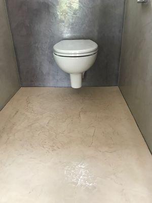 Badezimmer Ohne Fliesen Stucco Decor Kreative Spachteltechnik