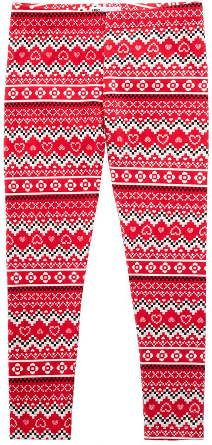 Epic Threads Mix and Match Fair Isle Leggings, Toddler Girls (2T ...