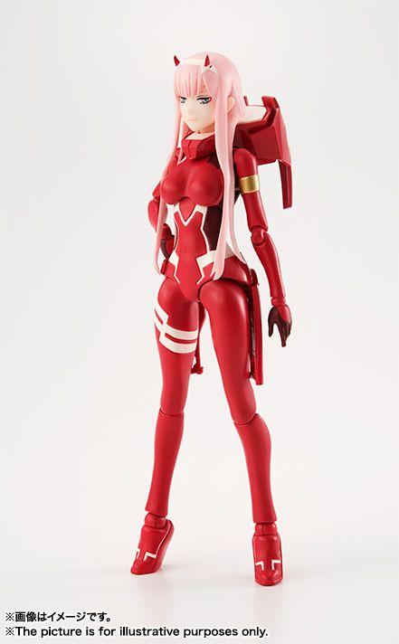 S H Figuarts Zero Two Darling In The Franxx Darling In The Franxx Anime Figures Anime Figurines