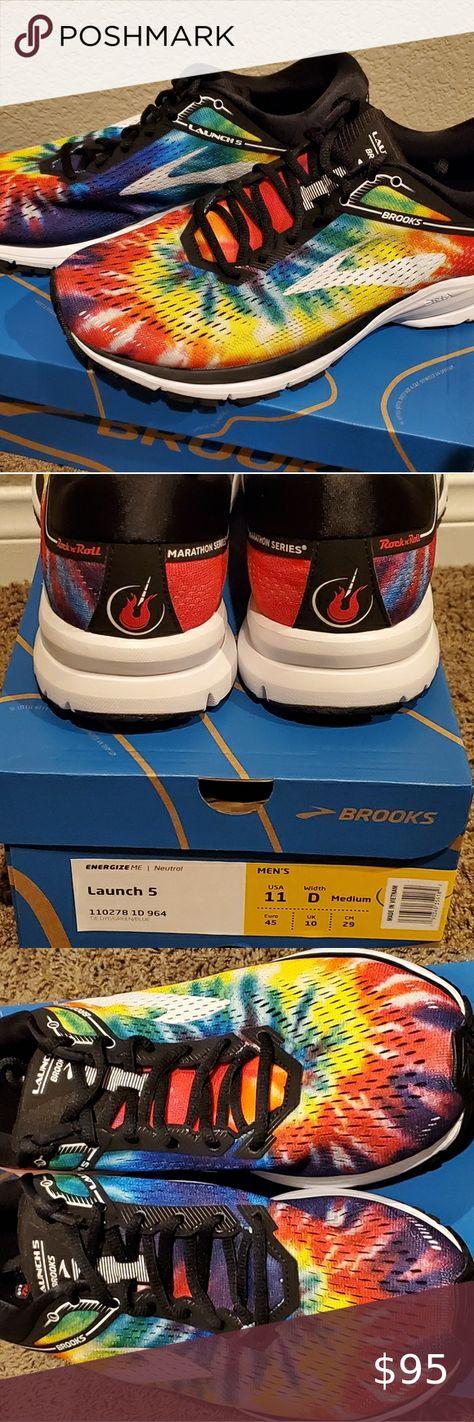 Marathon running shoes, Brooks launch